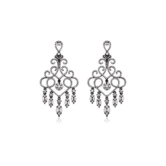Fantasy Diamond Earrings