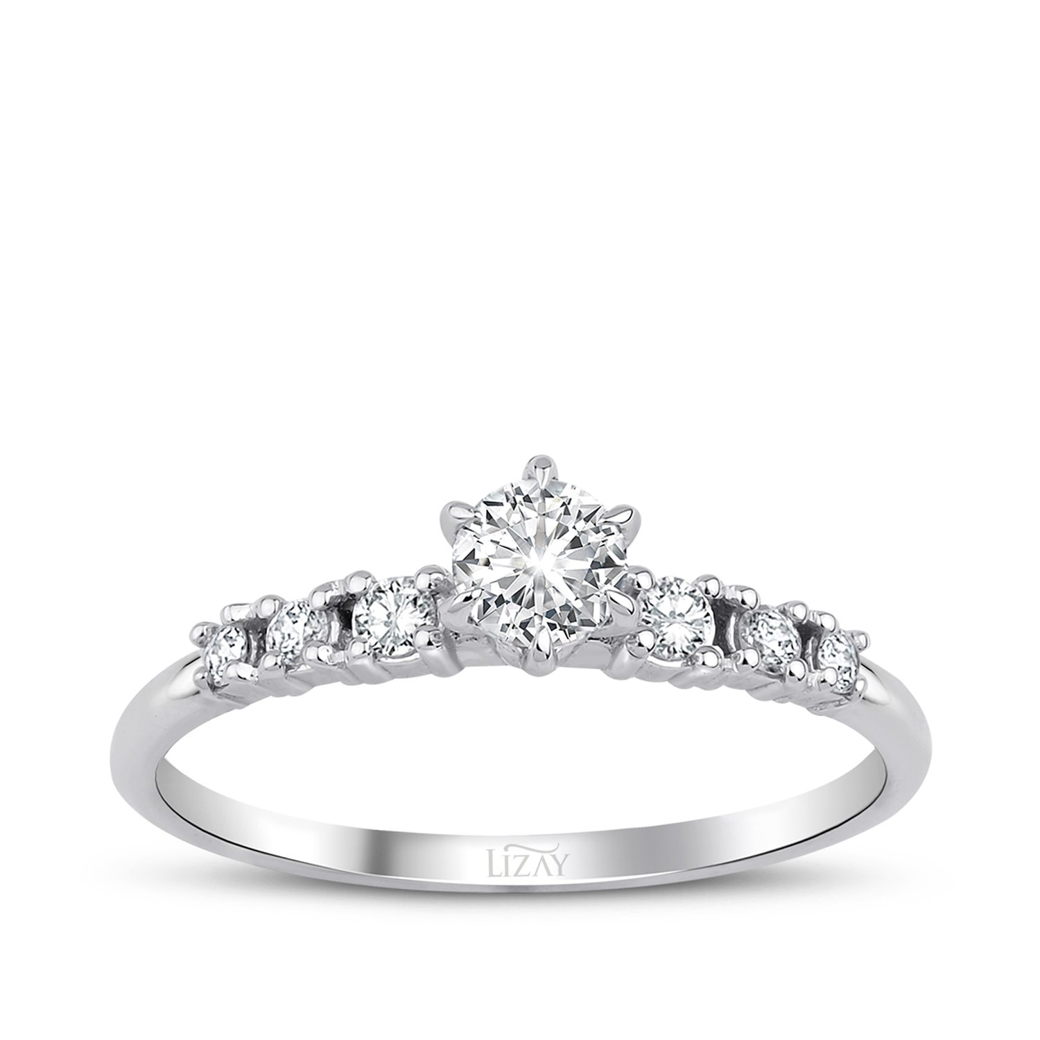 0.37 Carat Diamond Engagement Ring
