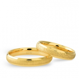 14K Gold Modern Classic Wedding Band