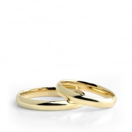 Gold Classic Wedding Rings