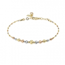 Gold Color Ball Bracelet