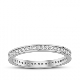 Gold Eternity Band Ring