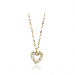 Heart 14K Gold Pendant