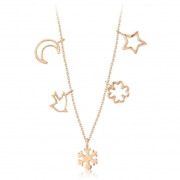 Gold Trend Luck Necklace