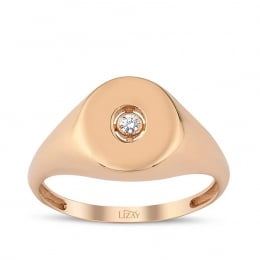 Gold Stone Trend Ring