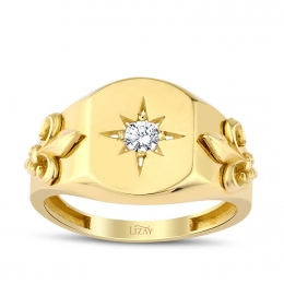 Gold Star Trend Ring
