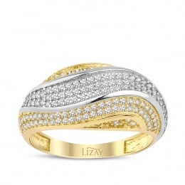 Gold Trend Ring