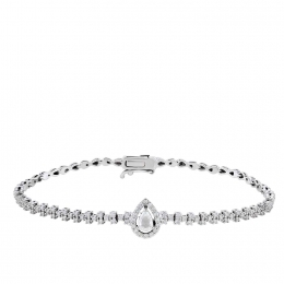 Diamond Rose Cut Diamond Bracelet