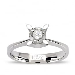 0.50 ct G Color HRD Certified Diamond Engagement Ring