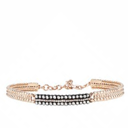 Rose Cut Diamond Bangle Bracelet