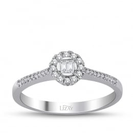 0.20 Carat Baguette Diamond Ring