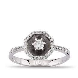 0.21 Carat Diamond Ring