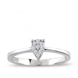 0.08 Carat Diamond Ring
