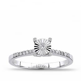 0.12 Carat Solitaire Ring