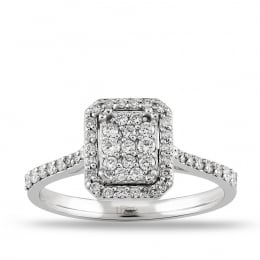 0.39 Carat Diamond Ring