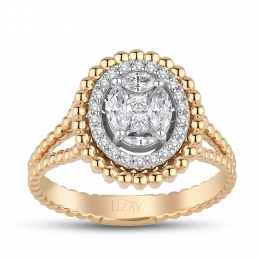 0.62 Carat Diamond Fancy Ring