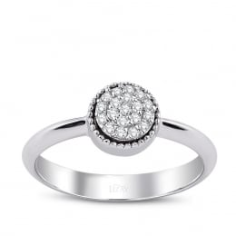 0.14 Carat Diamond Design Ring