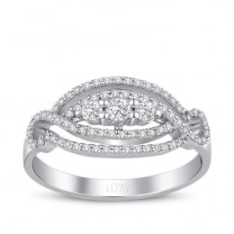 0.43 Carat Diamond Fancy Ring