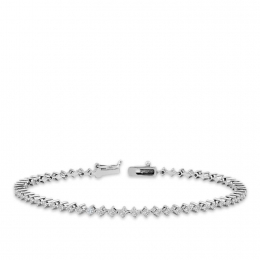 1.45 Carat Diamond Waterway Bracelet