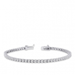 3.88 Carat Diamond Waterway Bracelet