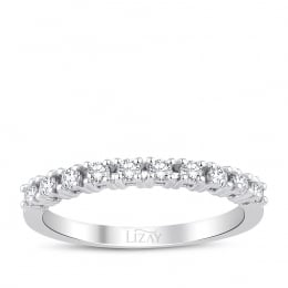 0.30 Carat Diamond Half Ring