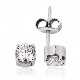 1,01Carat Solitaire Diamond Earring