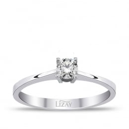 0.15 Carat Diamond Solitaire Ring