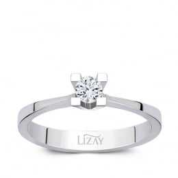 0.10 Carat Diamond Solitaire Ergagement Ring