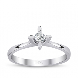 0.13 Carat Diamond Engagement Ring
