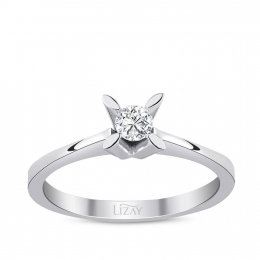 0.10 Carat Diamond Solitaire Ring