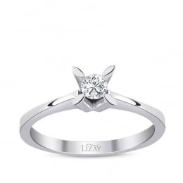Diamond Engagement Ring with 0.10 Carat