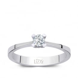 0.10 Carat Diamond Engagement Ring