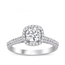 0.93 Carat Diamond Engagement Fancy Ring