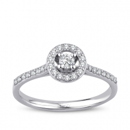0.30 Carat Diamond Engagement Fancy Ring