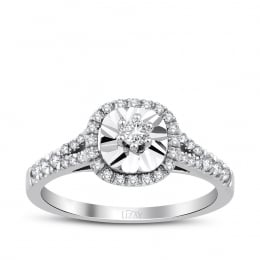 0.33 Carat Diamond Engagement Ring