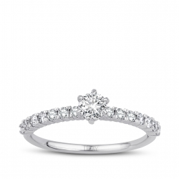 0.57 Carat Diamond Engagement Ring