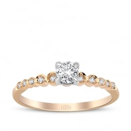 0.32 Carat Diamond Engagement Ring