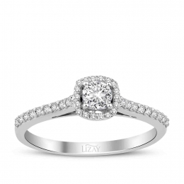 0.40 Carat Diamond Engagement Ring