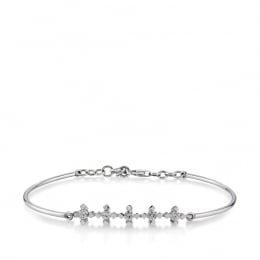 Five Stone Diamond Bracelet
