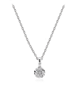 0.05 Carat Diamond Trend Necklace