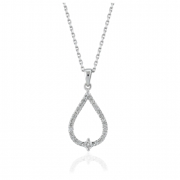 0.21 Carat Diamond Pendant