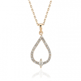 0.24 Carat Diamond Pendant