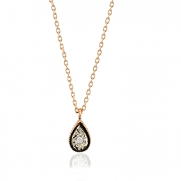 Diamond Drop Trendy Pendant