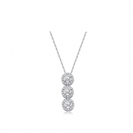 0.46 Carat Diamond Necklace