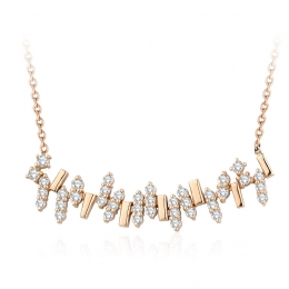 0.82 Carat Diamond Trend Necklace