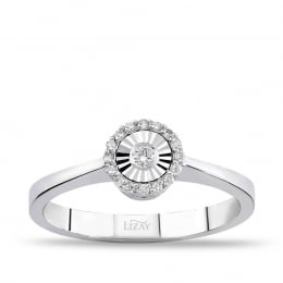 0,07 Carat Diamond Ring