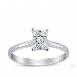 0.18 Carat Diamond Trend Ring