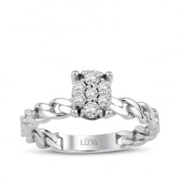 0.20 Carat Diamond Engagement Ring