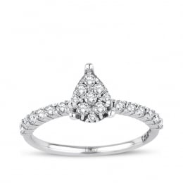 0.44 Carat Diamond Gemstone Ring