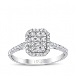 Diamond Ring with 0.41 Carat
